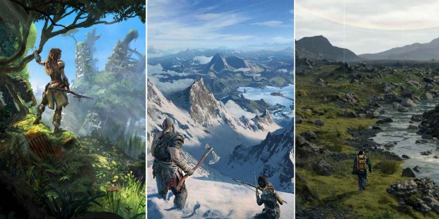 Sony опубликовала больше 40 обоев из игр для PlayStation