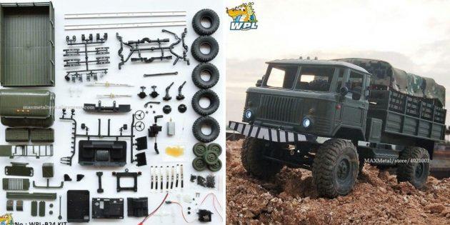 Радиоуправляемый грузовик