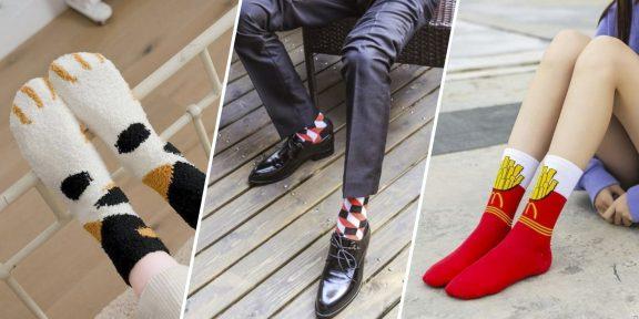 15 носков с AliExpress, которые развеселят кого угодно