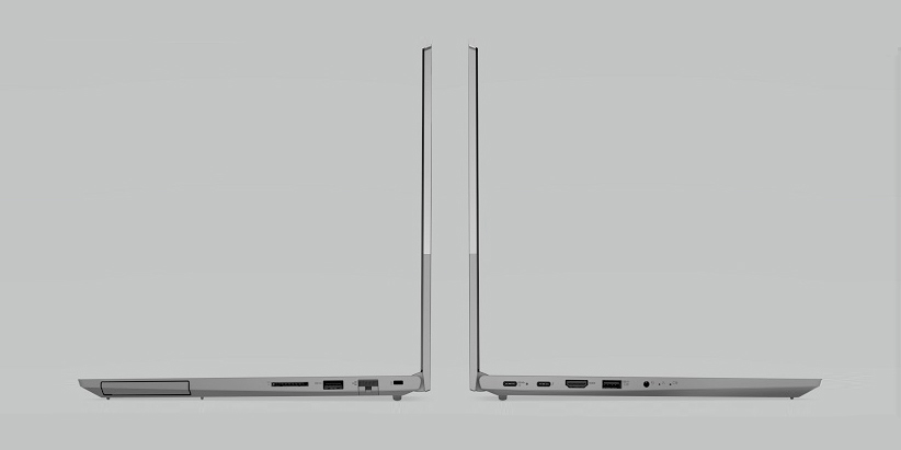 ноутбук с наушниками
