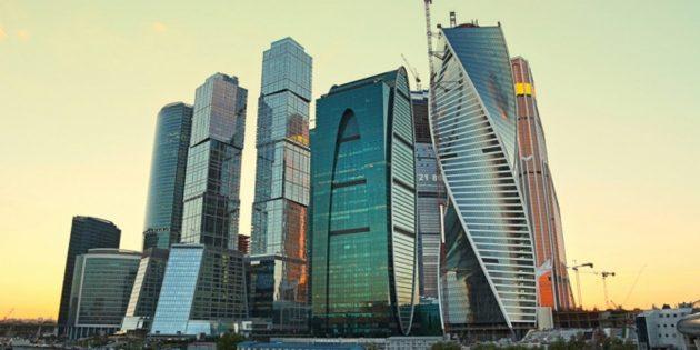 Экскурсия на смотровой площадке «Москва-Сити»