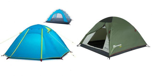 Подарки парню на день рождения: палатка