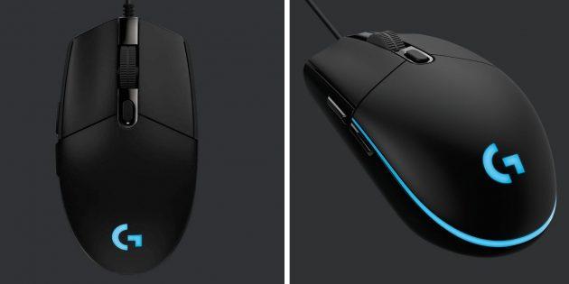Лучшие игровые мыши: Logitech G102Prodigy