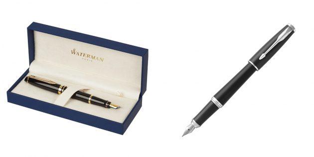 Подарок начальнику на день рождения: перьевая ручка