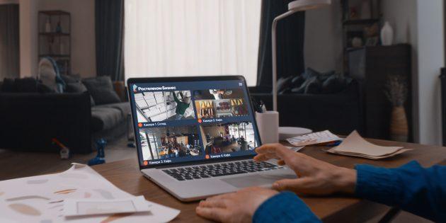 Прибыльный бизнес использует видеонаблюдение