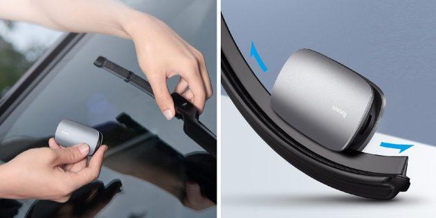 Девайс для реставрации автомобильных стеклоочистителей