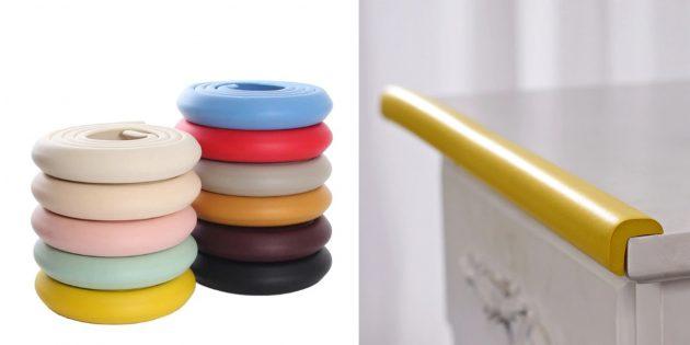Качественные недорогие вещи: мягкая защитная лента для мебели
