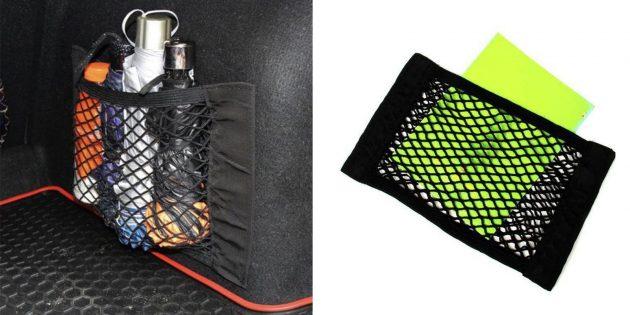 Качественные недорогие вещи: органайзеры-кармашки для багажника автомобиля