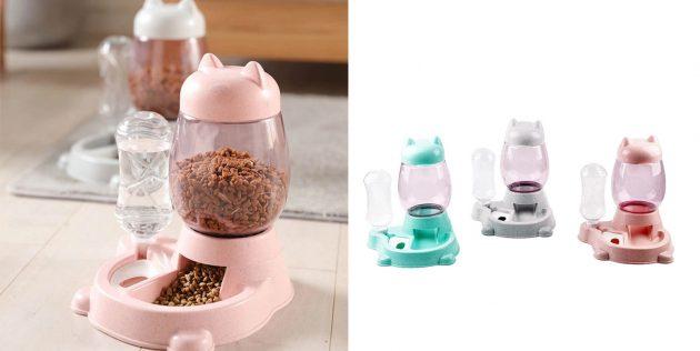Автоматическая миска для домашних питомцев