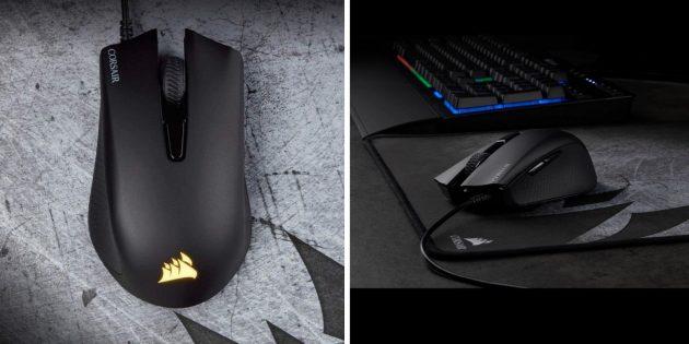 Лучшие игровые мыши: Corsair Harpoon RGB Pro