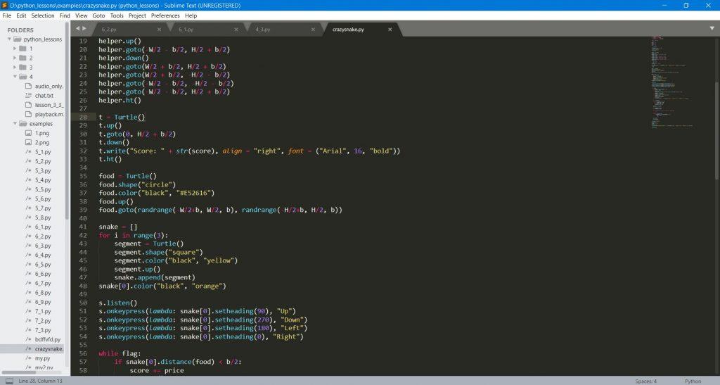 Лучшие редакторы кода: Sublime Text 3