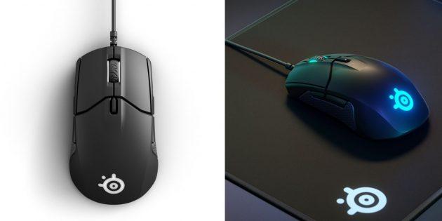 Лучшие игровые мыши: SteelSeries Sensei 310