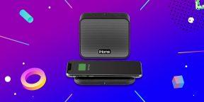 Выгодно: Bluetooth-колонка iHome с беспроводной зарядкой за 710 рублей