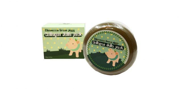Крем-маска для лица Elizavecca Green Piggy