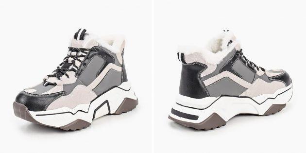 Утеплённые кроссовки Elsi