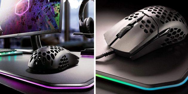 Лучшие игровые мыши: Cooler Master MM71053G