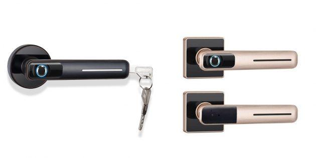 Биометрическая дверная ручка CatchFace