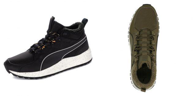Утеплённые кроссовки Puma Pacer Next