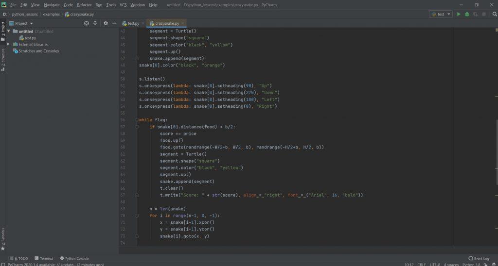 Лучшие редакторы кода: PyCharm