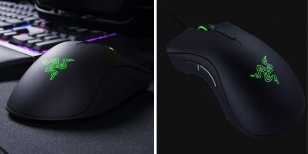 Лучшие игровые мыши: Razer Deathadder Elite