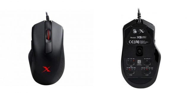 лучшие геймерские мыши: A4Tech Bloody X5Pro