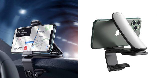 автомобильный держатель для смартфона Baseus Big Mouth Pro Car Mount