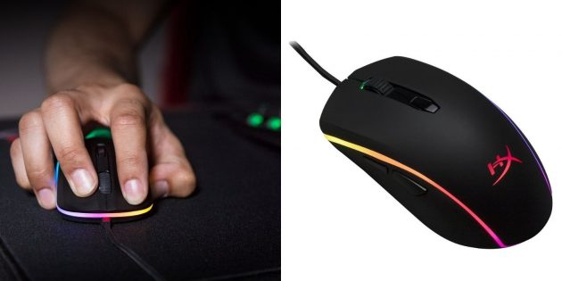 Лучшие игровые мыши: Kingston HyperX Pulsefire Surge RGB