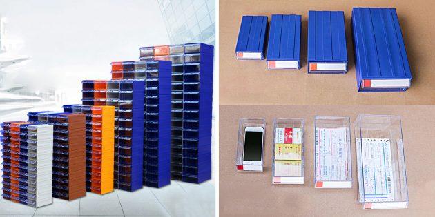 Контейнеры-блоки для мелочей