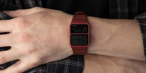 Штука дня: ретро-часы Casio CA-53WF с калькулятором, которые вы уже можете купить