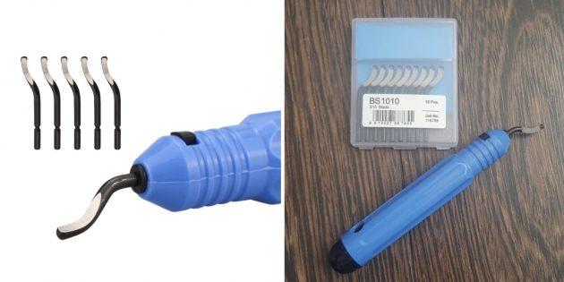 слесарные инструменты: шабер