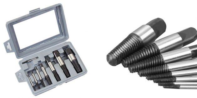 слесарные инструменты: экстракторы болтов