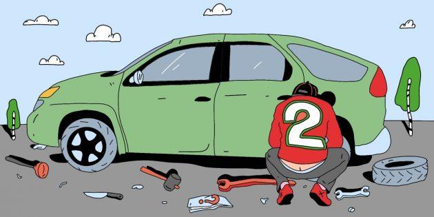 Советы автомобилистам: потренируйтесь менять колесо