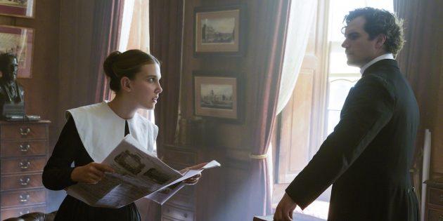 Кадр из фильма «Энола Холмс»