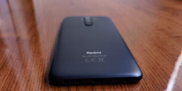 Смартфон Redmi 9: звук и вибрация