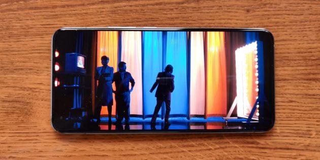 Экран Vivo X50