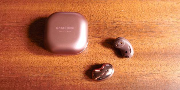 Дизайн наушников Samsung Galaxy Buds Live