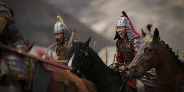 Кадр из фильма «Мулан-2020»