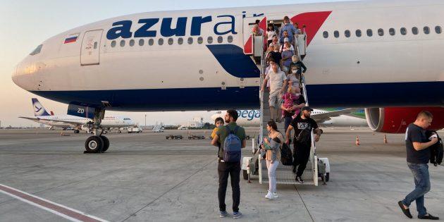 Отдых в Турции в 2020-м: перелёт