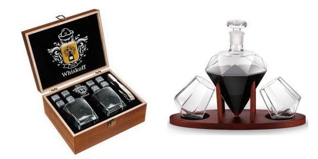 Необычные бокалы для виски