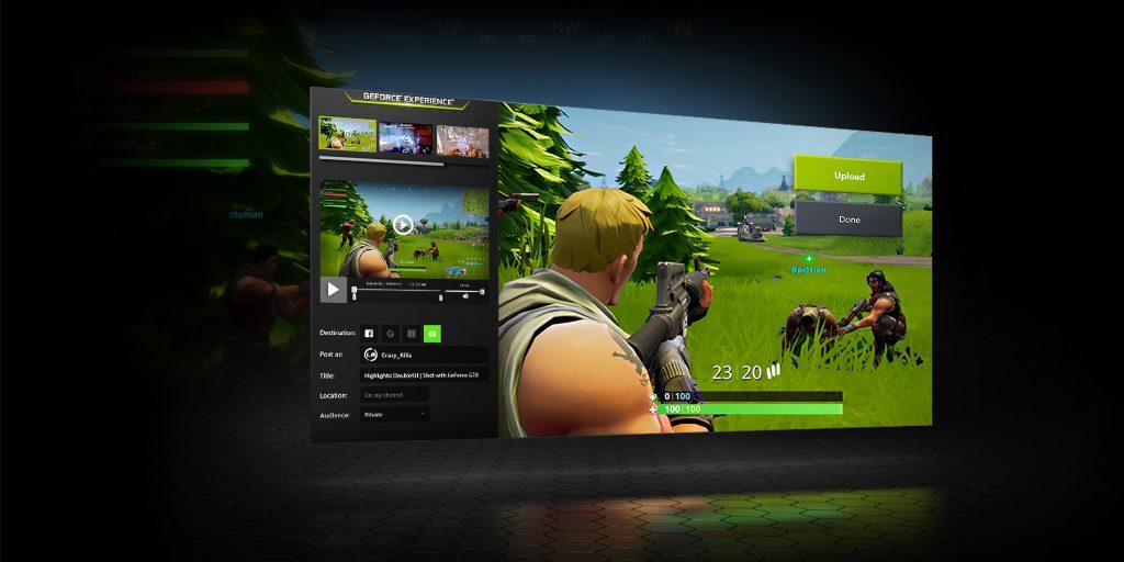 Программы для стриминга: Nvidia Shadowplay