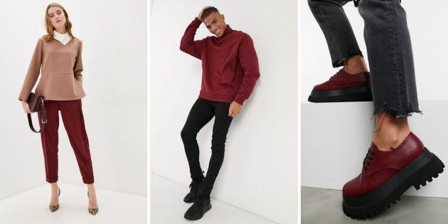 Модные цвета зимы-2020: обожжённый кирпич