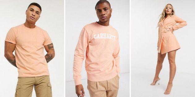 Модные цвета зимы-2021: персиковая нуга
