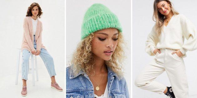 Женская мода, зима-2020-2021: очень пушистые вещи