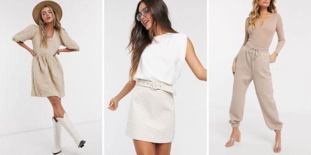 Женская мода осени-2020: стёганая текстура