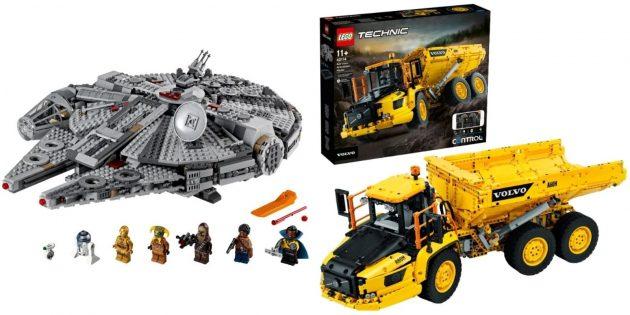 Что подарить парню на день рождения: крутой набор Lego