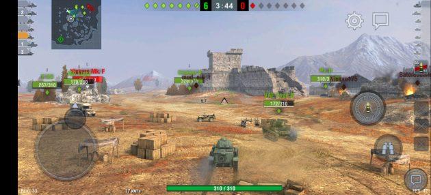 Быстродействие Vivo X50 в играх
