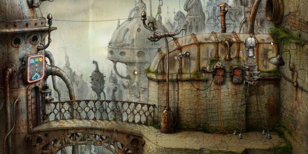 Игры-головоломки на ПК: Machinarium