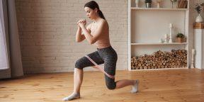 Тренировка дня: 7 упражнений для красивой попы и стройных ног