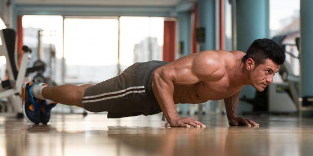 Статьи о спорте: тренировка дня, которая убьёт ваши плечи и руки за 6 минут
