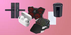 Всё для мужика: сенсорный выключатель, игровая клавиатура и будильник